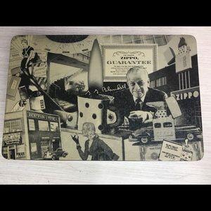 Vintage Zippo Metal Box